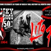 WHISKY'S 50TH ANNIVERSARY: LITA FORD