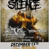 SUICIDE SILENCE, UPON A BURNING BODY, WINDS OF PLAGUE, UNSOUND MADNESS, THE IMAGE YOU CLAIM, PRISON, OUTSIDE THE LIVING