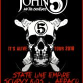 JOHN 5 AND THE CREATURES, STATE LINE EMPIRE,