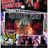 MAIDEN USA (Iron Maiden Tribute)+ GHOST A.D. (Ghost Tribute), GRAVEDANGER