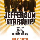 JEFFERSON STARSHIP, PEARL STAGE 11, SOLOMAN GRUNDY