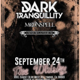 AMORPHIS, DARK TRANQUILITY, MOONSPELL, COMNIUM GATHERUM