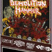 DEMOLITION HAMMER, WITCHHAVEN, SLAUGHTER PATH, RAVAGE REALM, HALFBREED