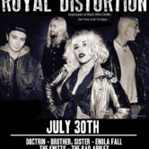ROYAL DISTORTION, DOCTRIN, 'BROTHER, SISTER', ENOLA FALL, THE KNITTS, THE BAD APPLEZ