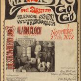 THE STRAWBERRY ALARM CLOCK, KAZ BIELINSKI, STAINS OF A SUNFLOWER, '79, TIKI MCPHERSON, STACY STONE, FRANK FOIS
