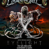 ESCAPE THE FATE with EYELIGHT, TO US BELOW, GANDHI'S GUN, DANGER ESCAPE